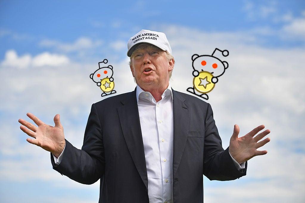 donald-trump reddit reddit-ama reddit-gold trump