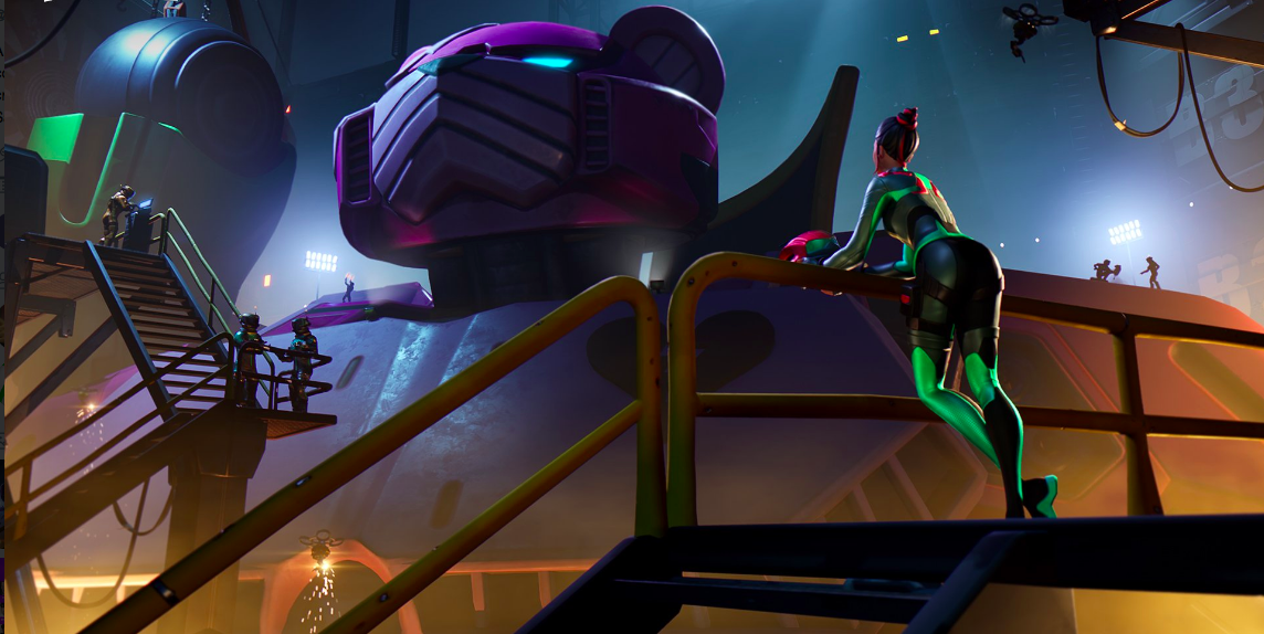 Fortnite's Giant Monster And Robot Finally Fought