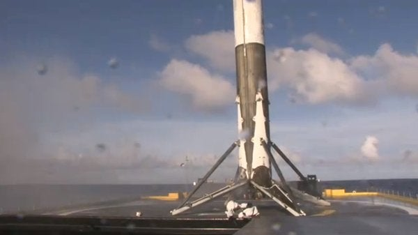 laaaaanding rockets spacex