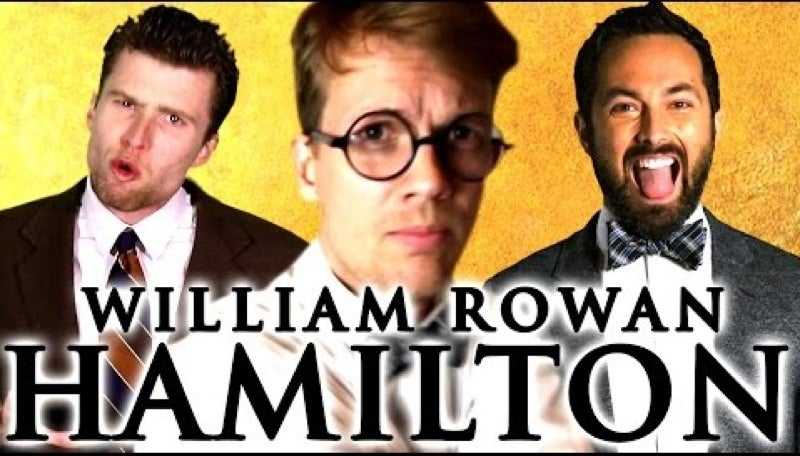 hamilton silly-stuff video william-rowan-hamilton