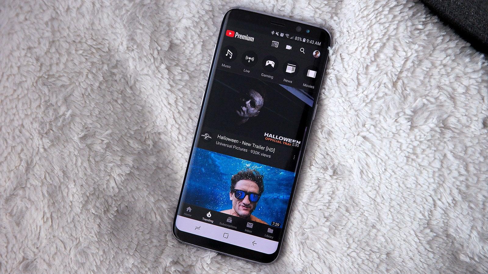 youtube dark screen app