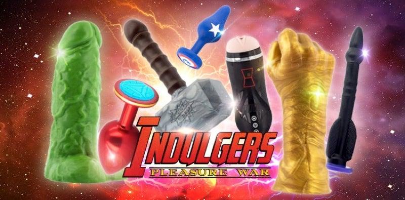 Aussie Avengers Sex Toys, Assemble!