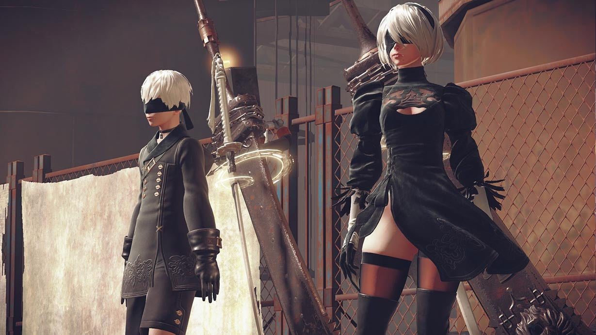 That's One Lewd Trophy, Nier: Automata