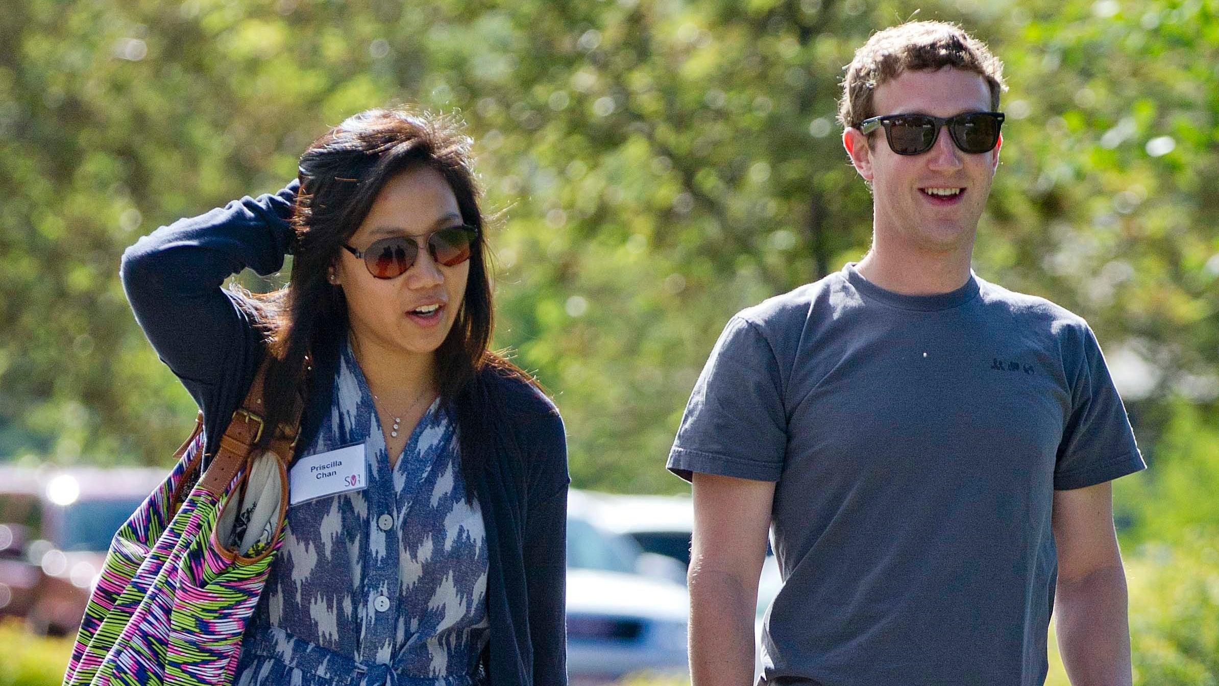 facebook mark-zuckerberg priscilla-chan