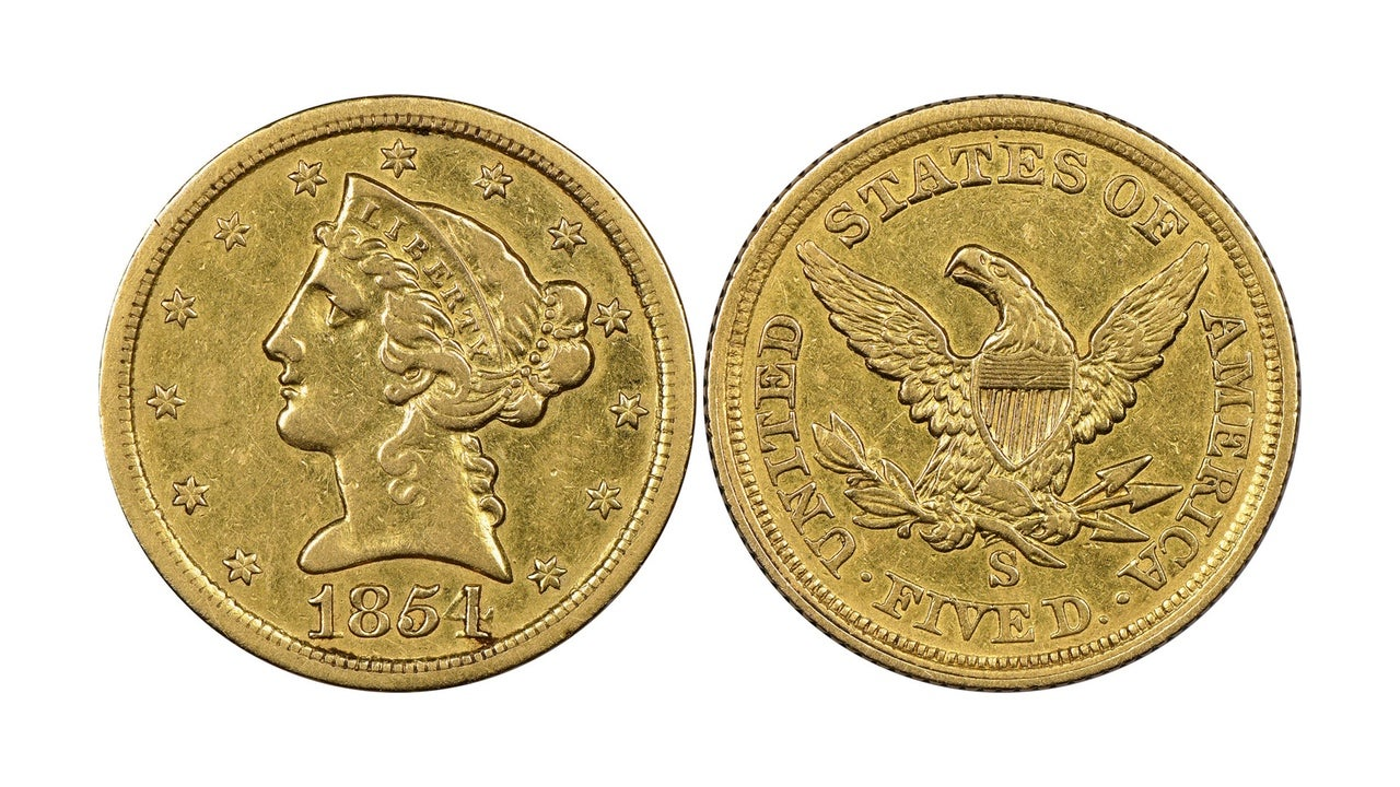 Everyone Thought This Coin From The California Gold Rush Was Fake, But It's Actually Worth Millions