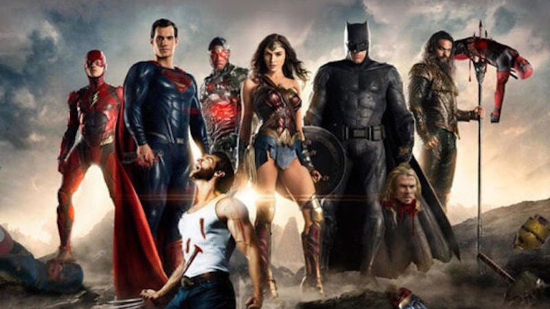 Fake Movie Poster Of TheJustice League Murdering Marvel Characters Was Used For Real In China