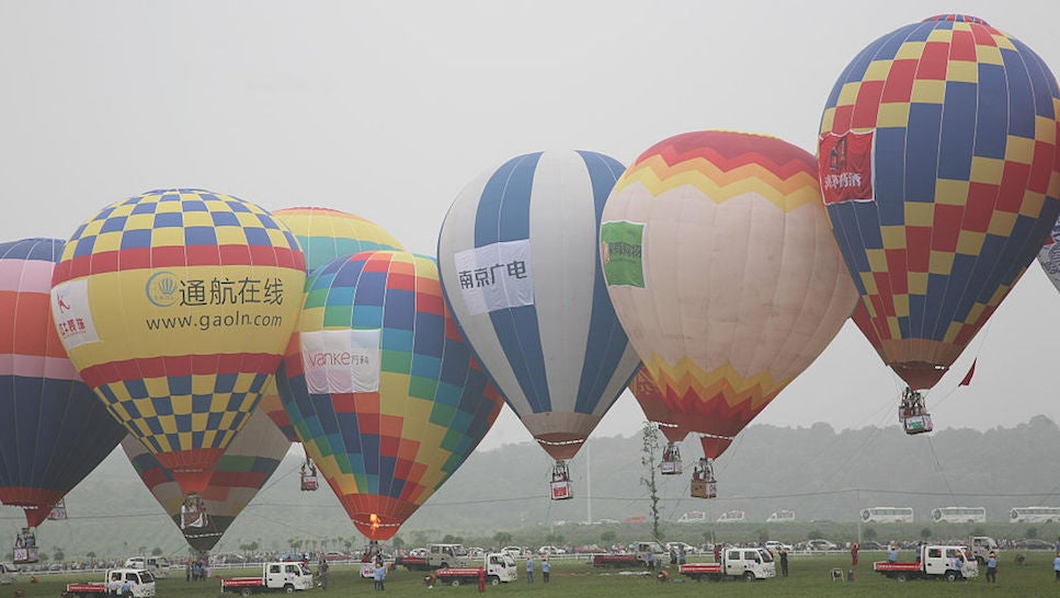 china hot-air-balloon transportation uber