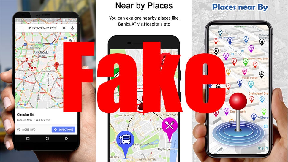 Navigation Apps With Millions Of Downloads Exposed As Just Google Maps With Bonus Ads