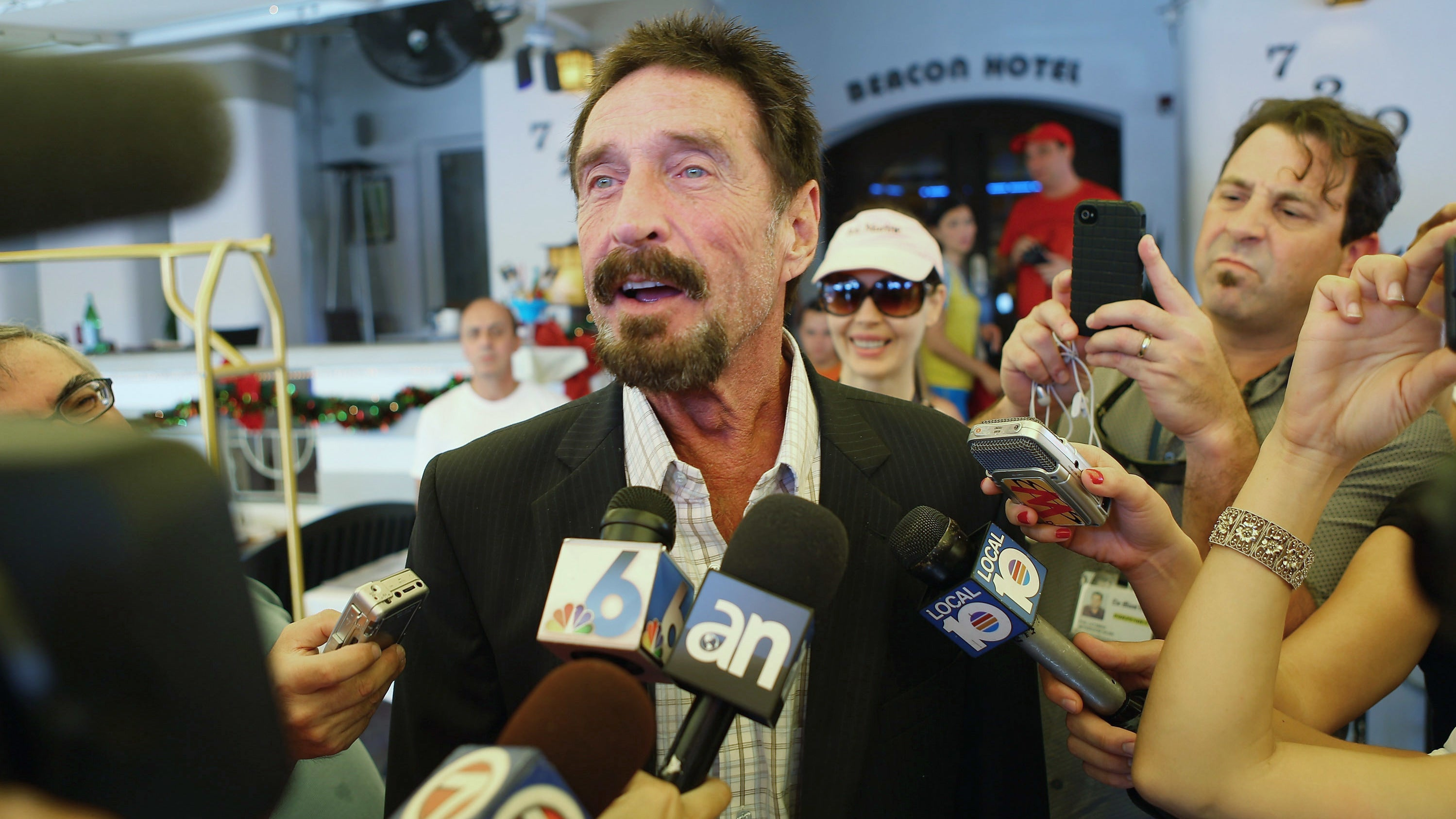 Hospitalized John McAfee Swears Wrath On Whoever Managed To 'Spike Something That I Ingested'