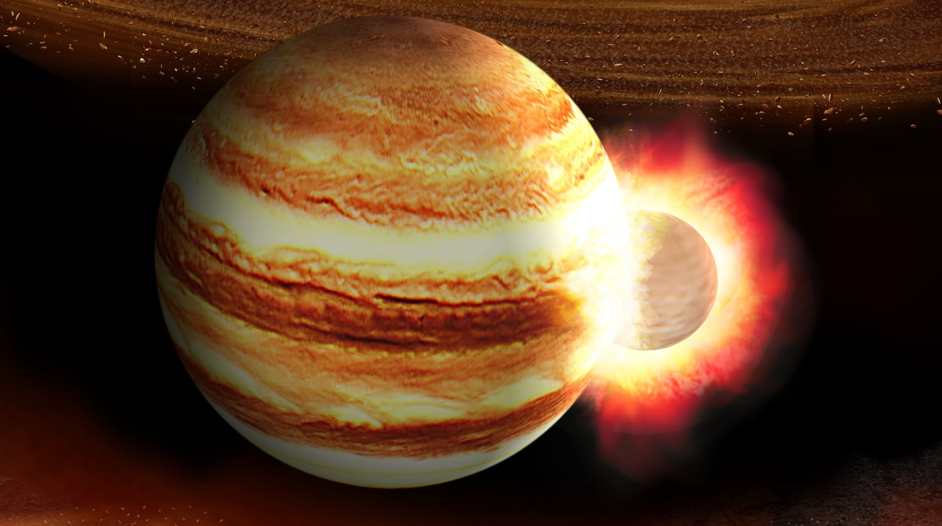 A Baby Planet Might Have Smashed Right Into Young Jupiter