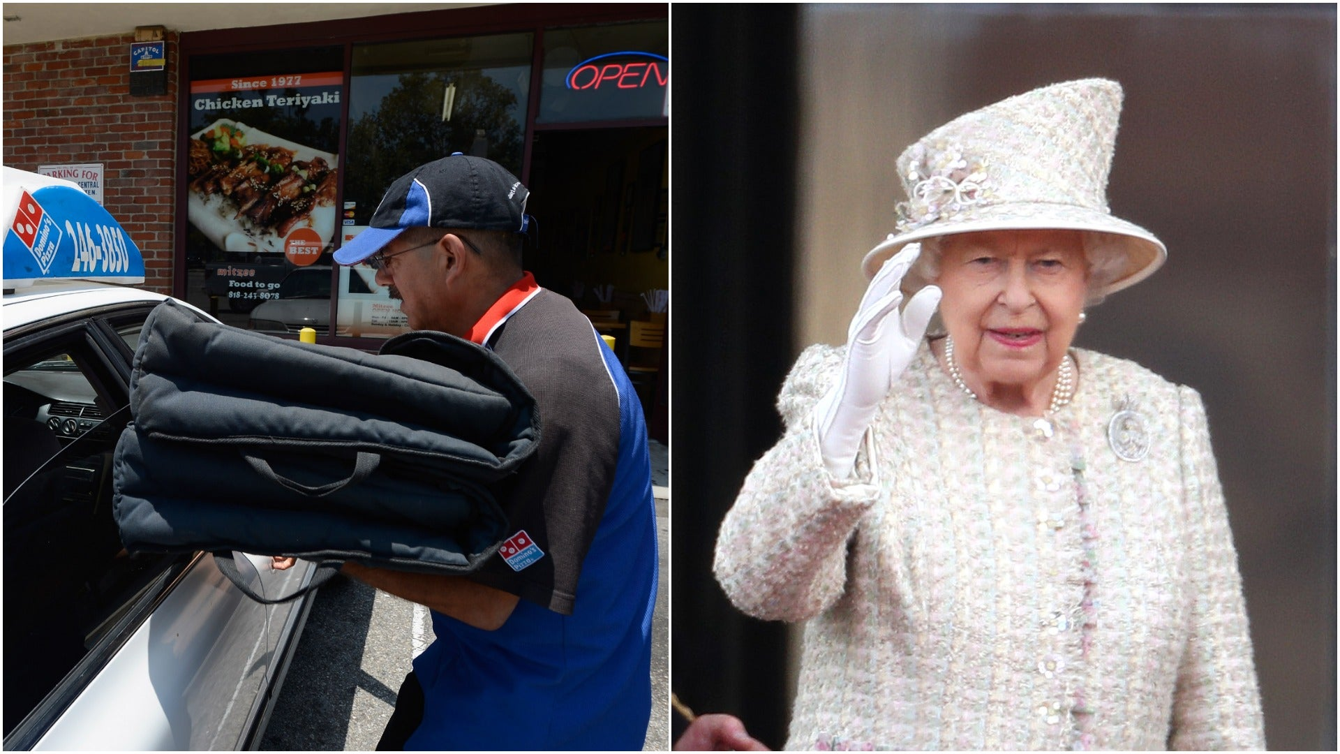 Domino's Driver Unable To Deliver Pizza To Buckingham Palace