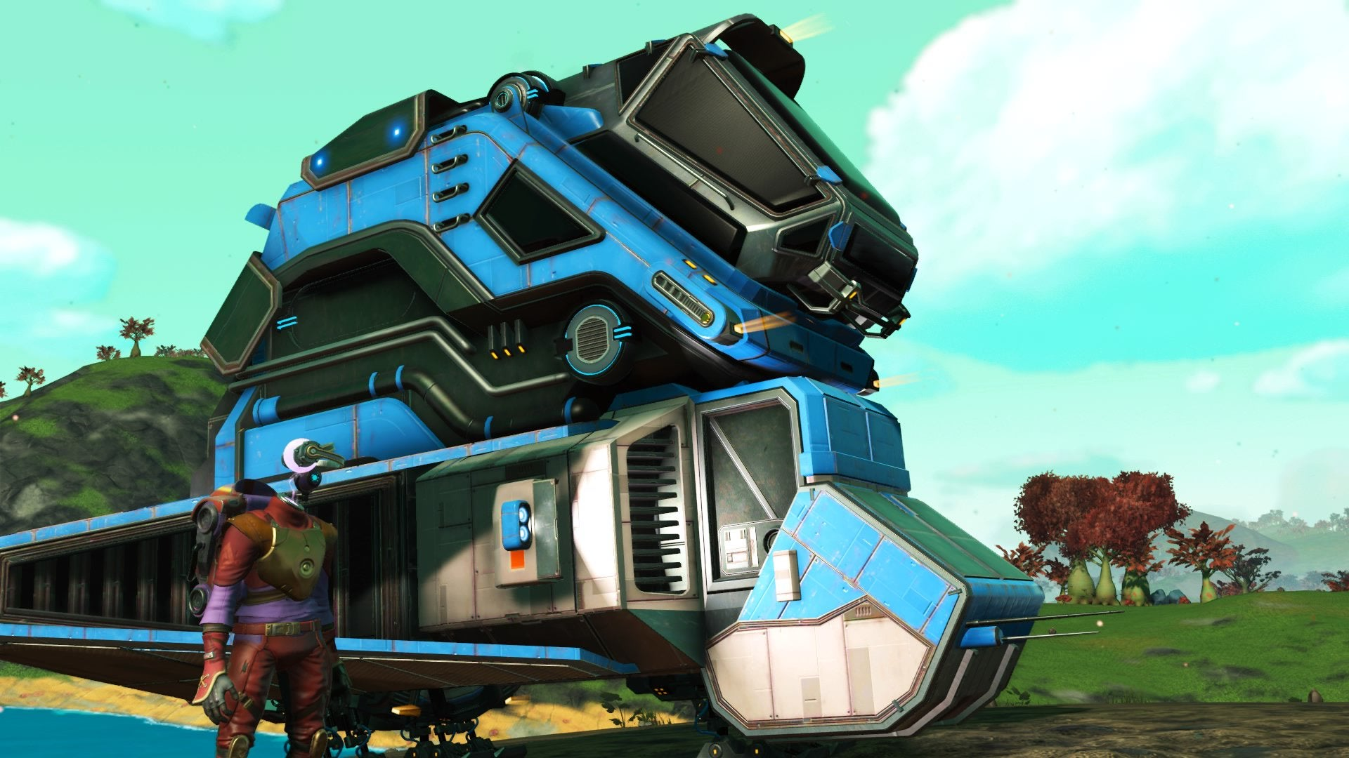 No Man's Sky's Beyond Update Reveals The Game's Real Potential