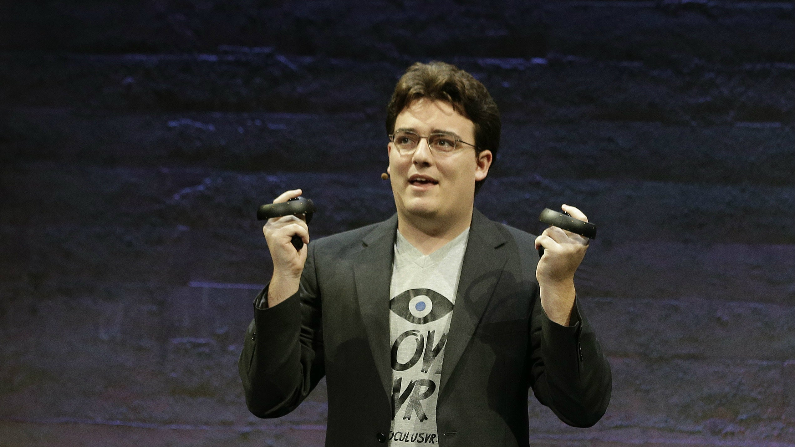 Palmer Luckey's First Day Back In The Spotlight Was Not Fun