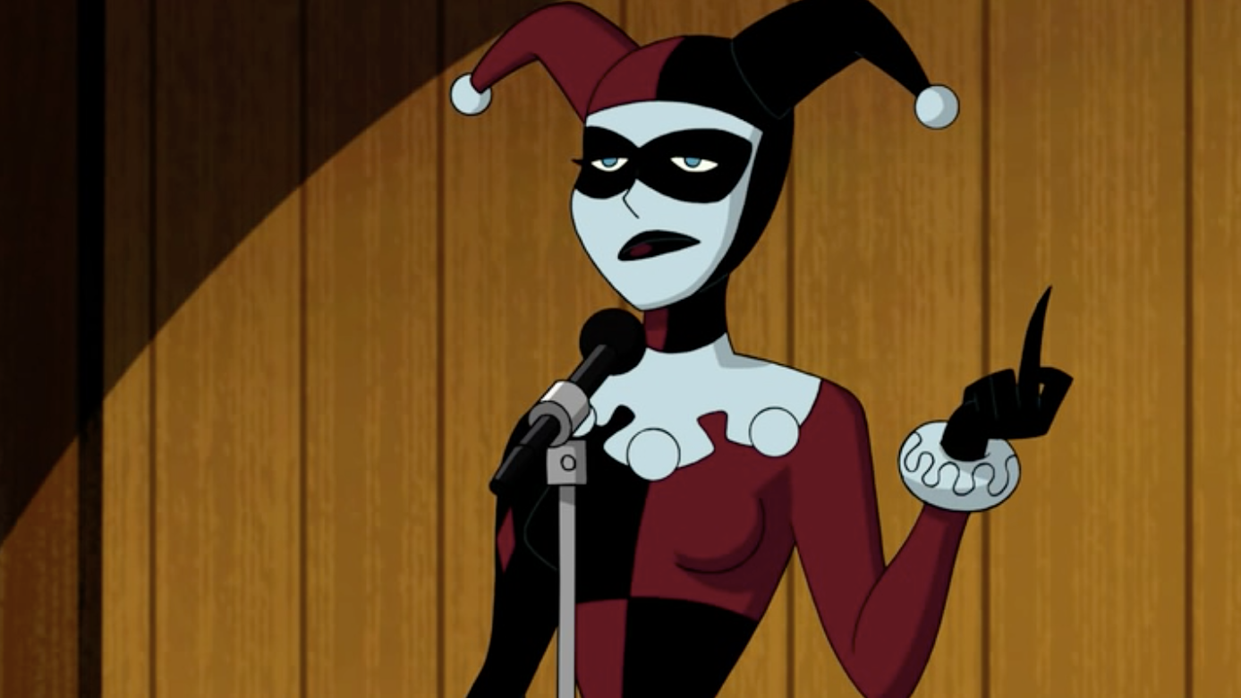 Batman And Harley Quinn Gives A Big Middle Finger To The Beloved Antivillain
