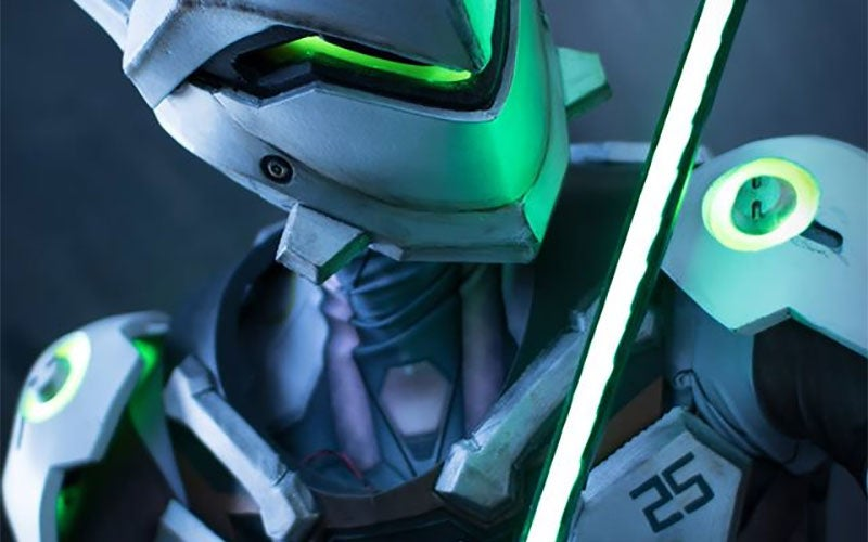 cosplay genji overwatch