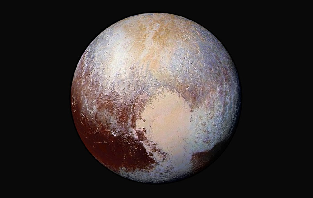 astronomy geology new-horizons pluto space