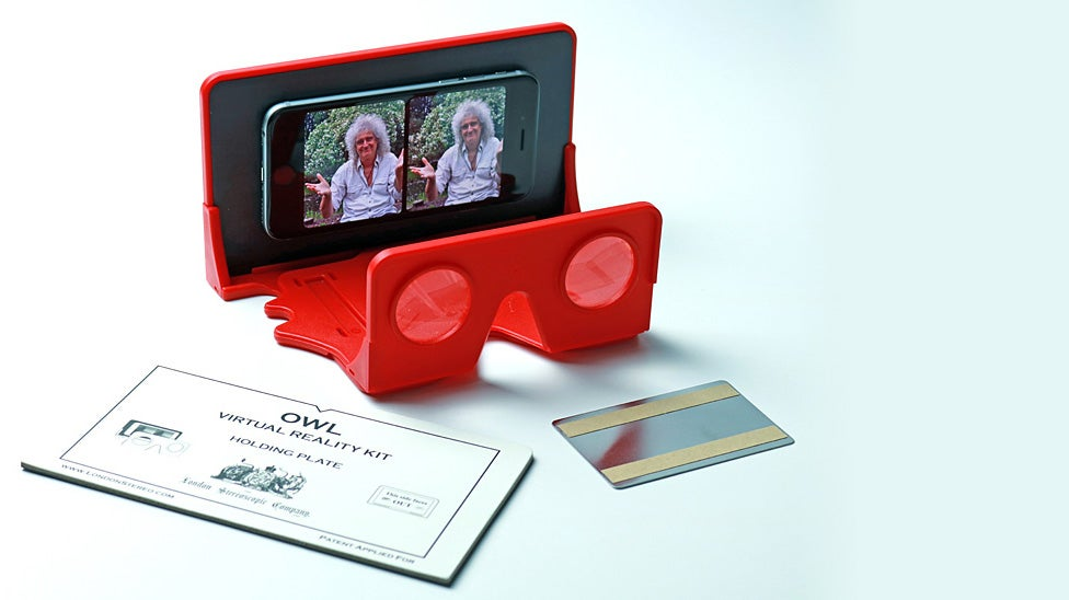brian-may owl-stereoscope queen smartphone virtual-reality vr