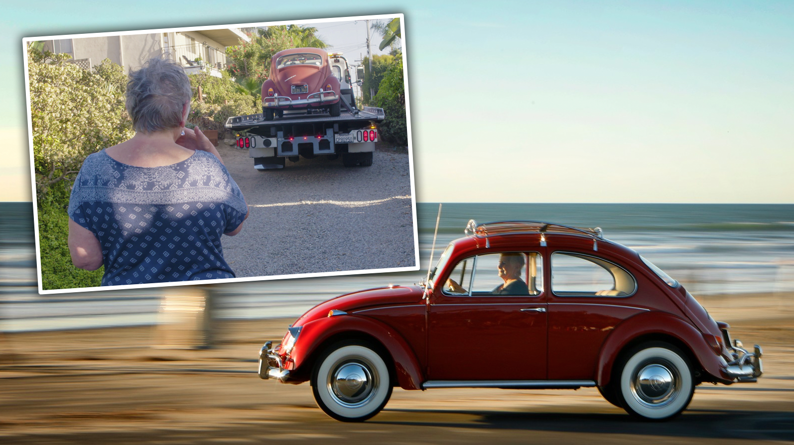 Volkswagen Restores Woman's Beloved Beetle She's Had For 52 Years