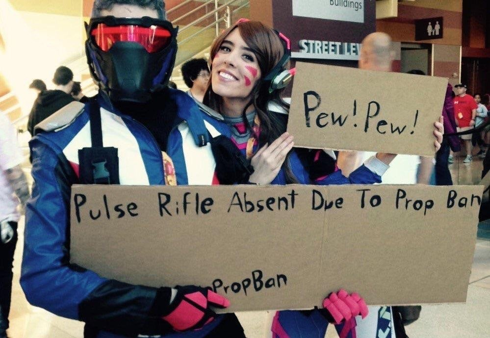 How To Cosplay When Your Guns Are Banned