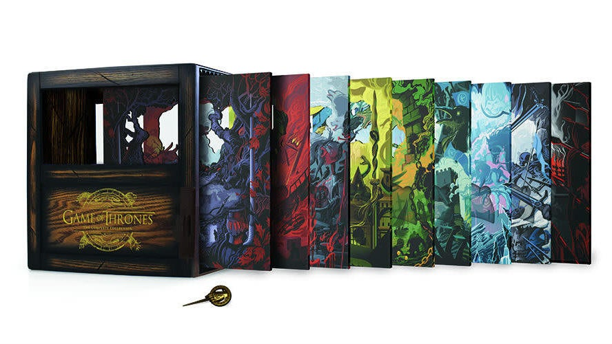 This 33-Disc Game Of Thrones Complete Box Set Is Gorgeous