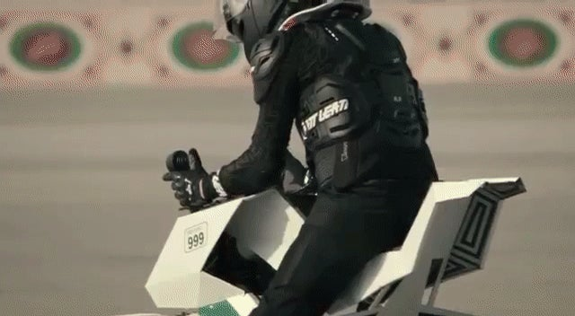 Cops In Dubai Are Getting Real, Very Dangerous Looking Hoverbikes