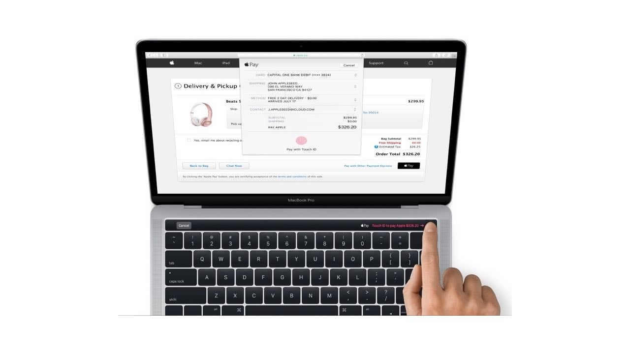 mac macbook macbook-pro macos touchid