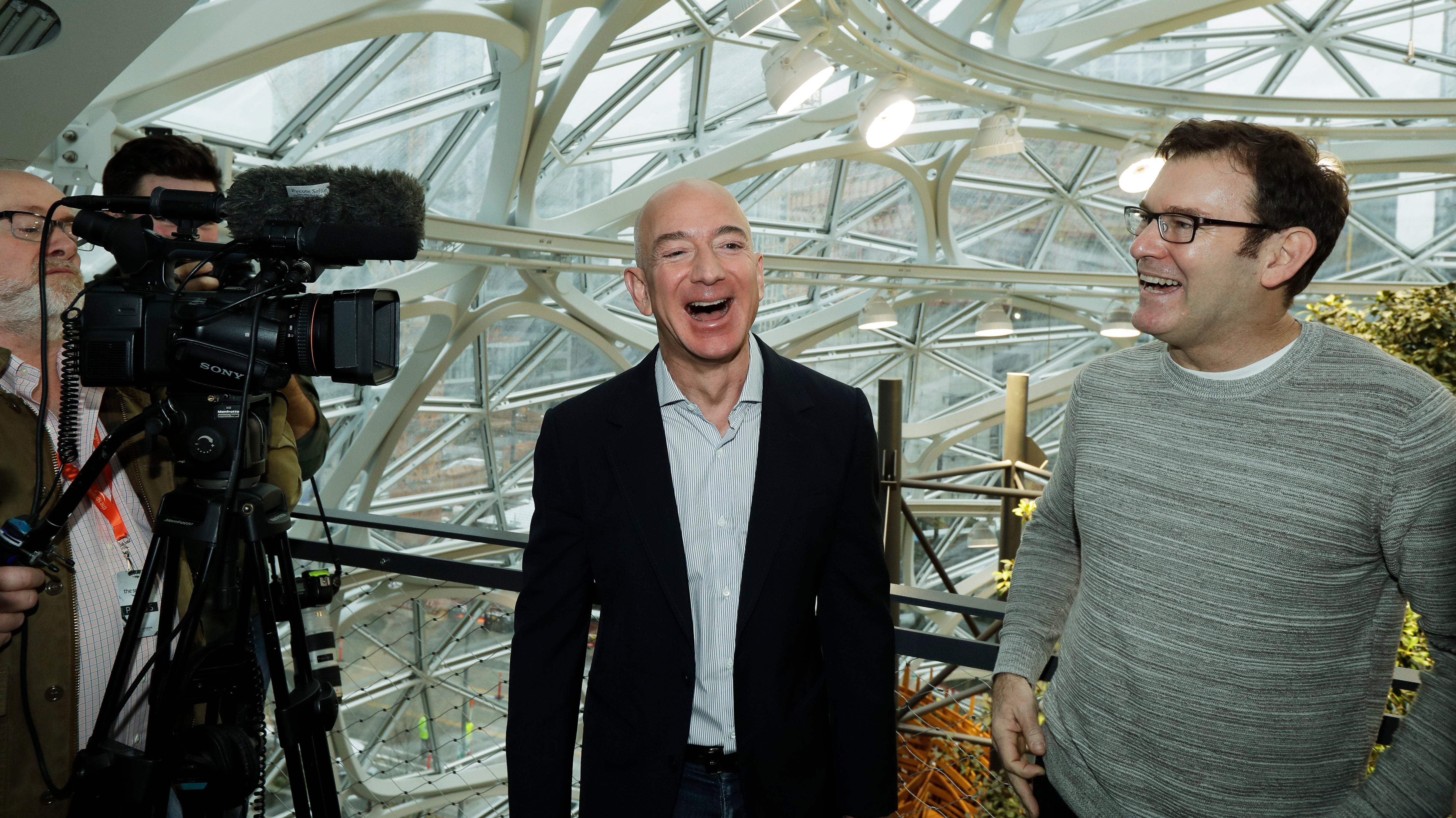 Amazon Workers Demand Jeff Bezos Cancel Face Recognition Contracts With Law Enforcement