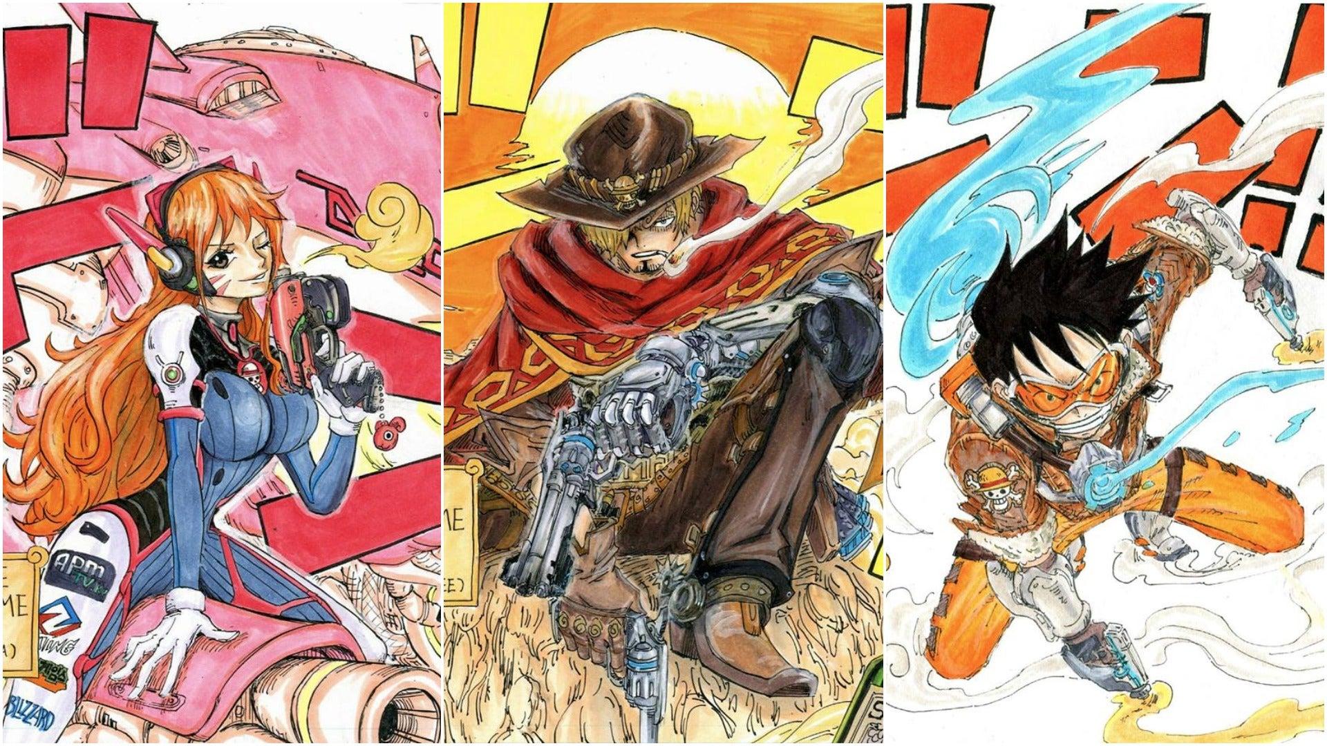 art fan-art manga one-piece overwatch south-korea