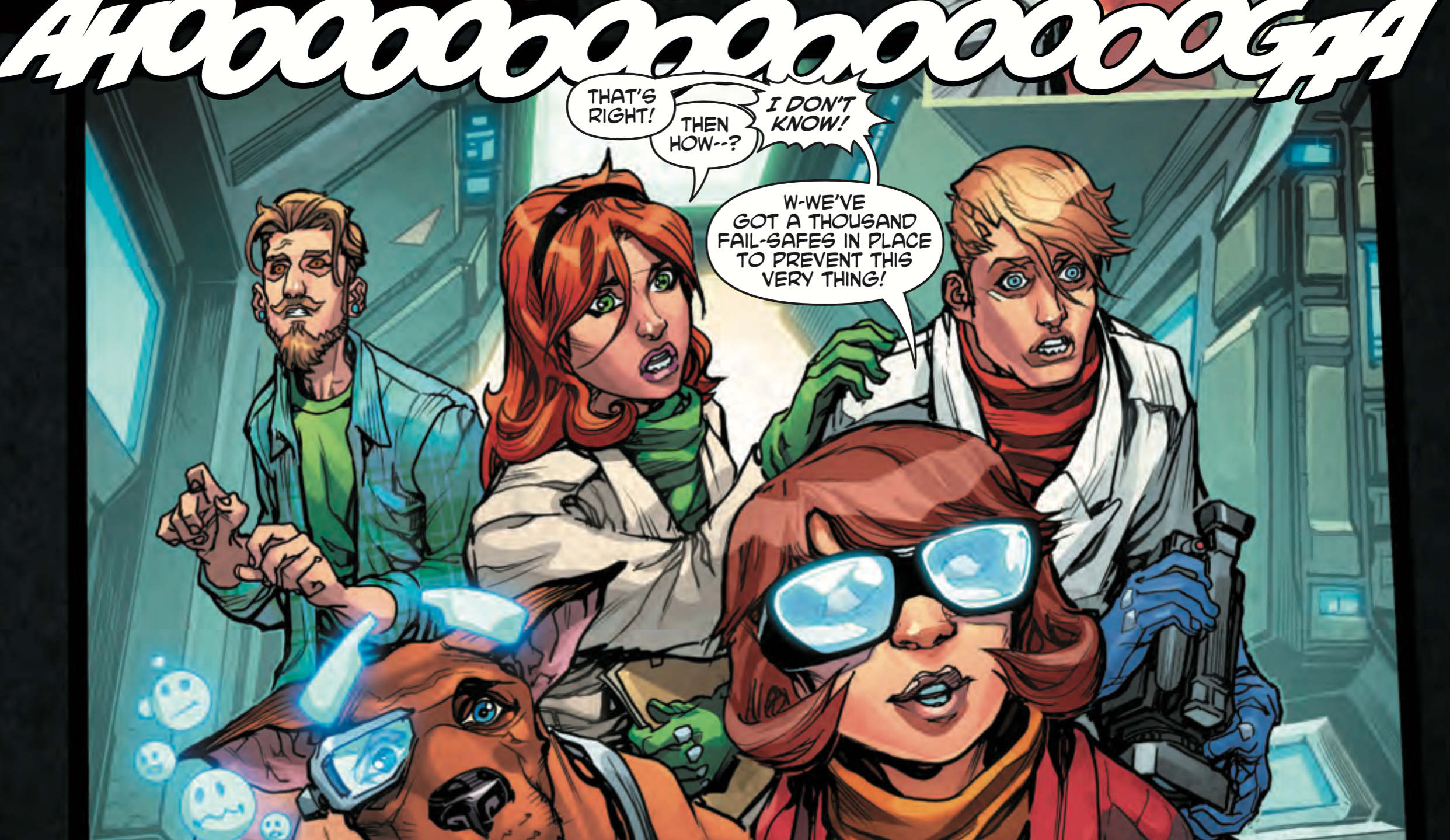 dc-comics panel-discussion scooby-apocalypse