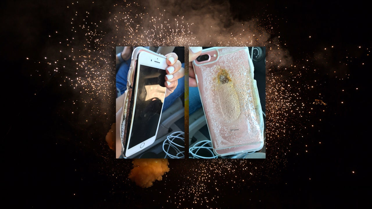 Apple 'Looking Into' Exploding iPhone 7 After Smoking Hot Video Goes Viral