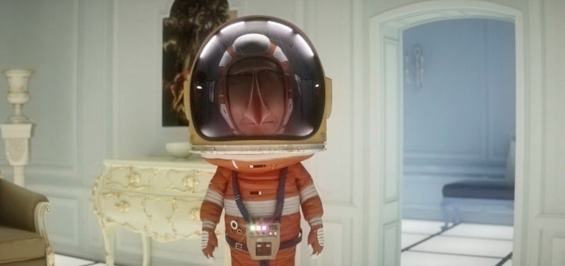 A Cheeky Short That Melds Space Travel, Stanley Kubrick, And One Very Sly Piece Of Fruit