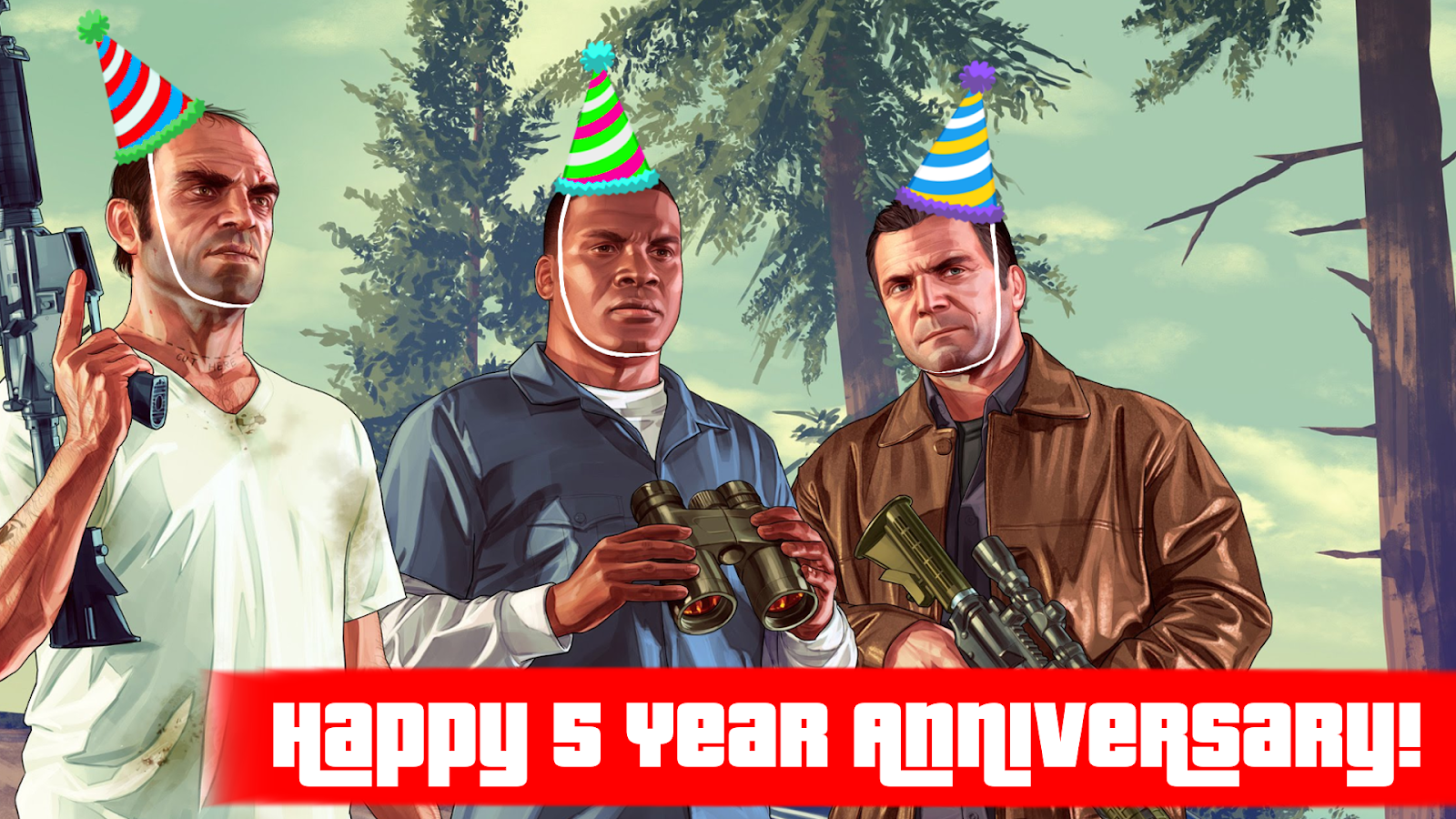 GTA V, Five Years Later
