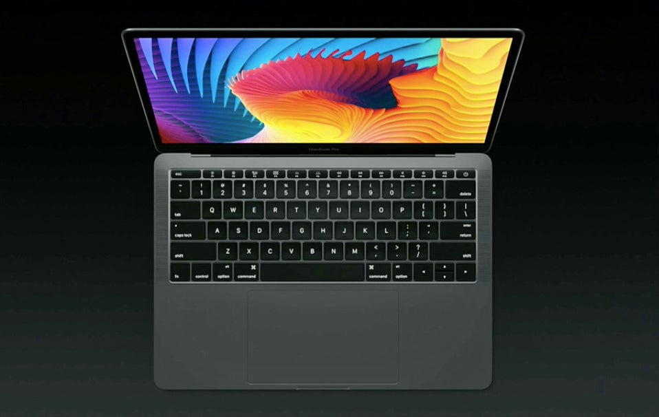 apple macbook-air macbook-pro macbook-pro-event-2016