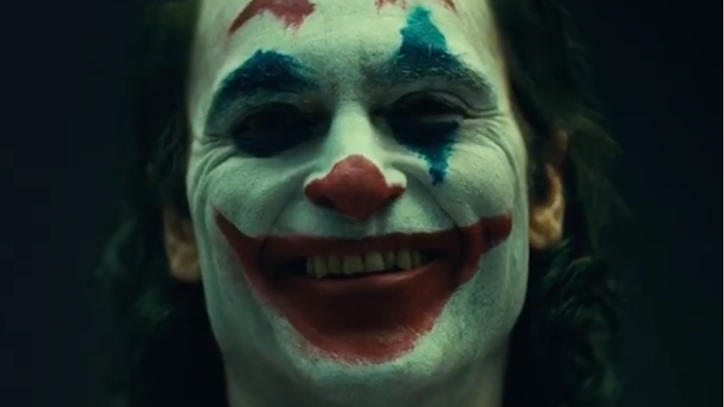 Here's Your First Look At Joaquin Phoenix's Joker In Makeup