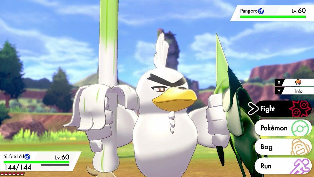 The Internet Reacts To Sirfetch'd, Pokémon Sword's New Farfetch'd Evolution