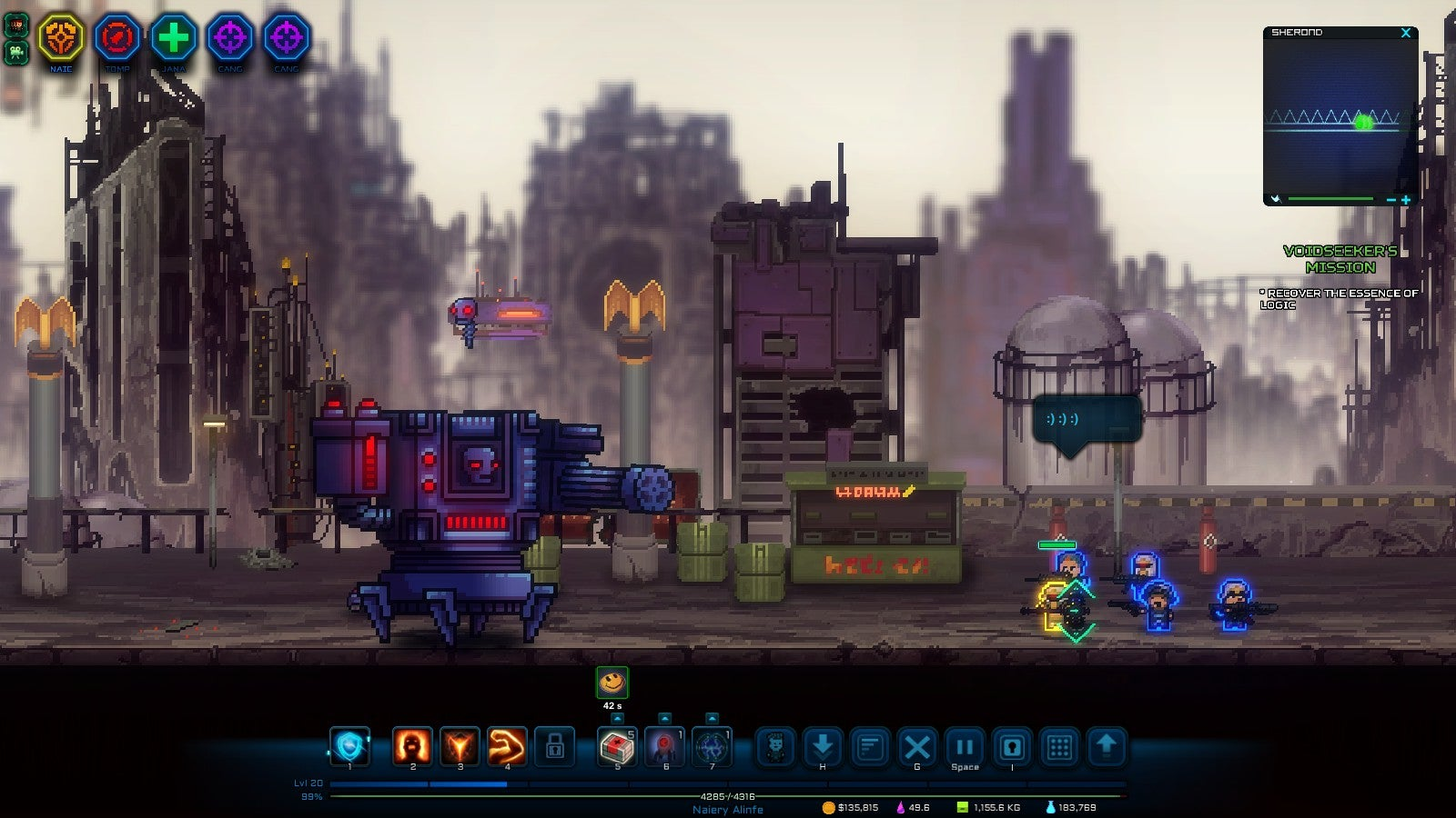 Pixel Privateers Is Like Squad-Based Borderlands