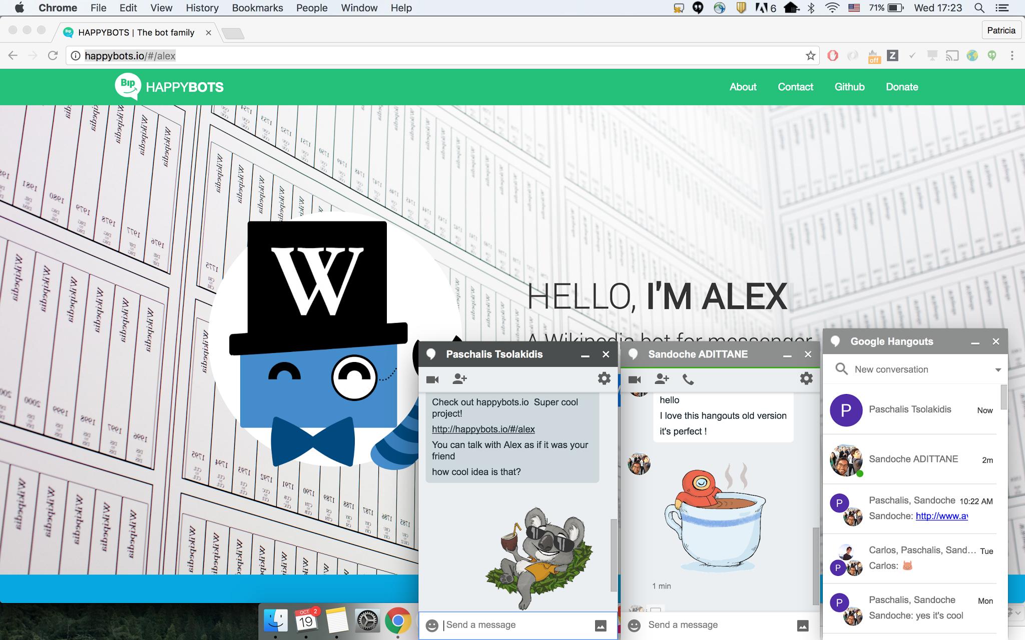 chrome chrome-extensions extensions google-hangouts hangouts