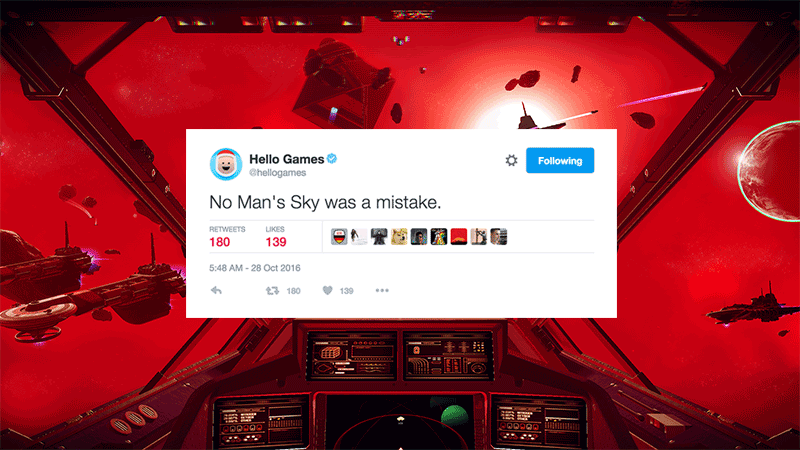No Man's Sky Accounts Apparently Hacked, Send Bogus Apologies For The Game