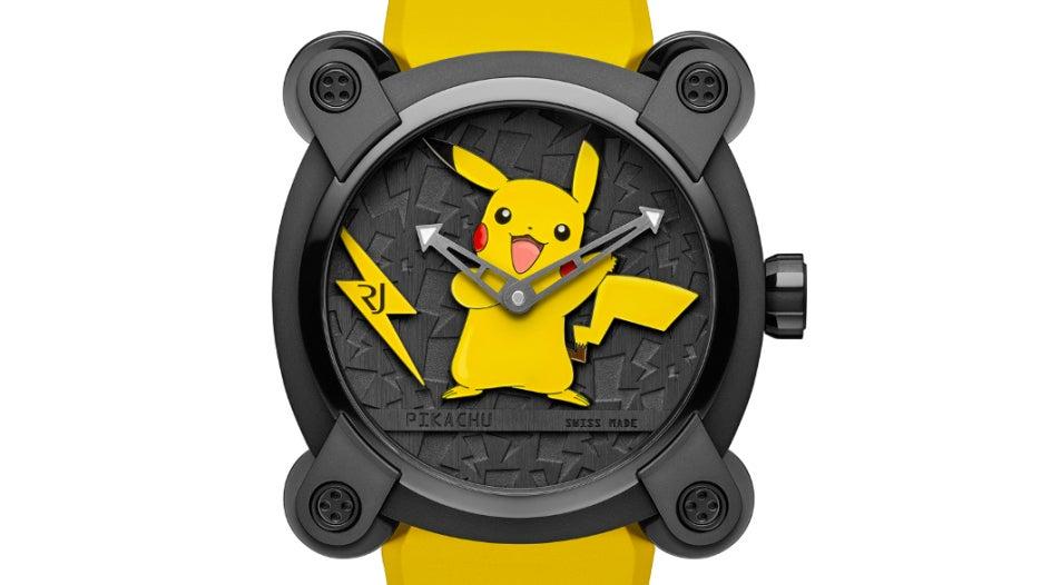 nintendo pikachu pokmon rj-x-pokemon romain-jerome timepieces video-games watches wearables