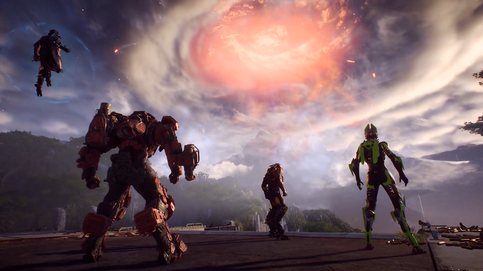 BioWare Delays Anthem's Big Cataclysm Event