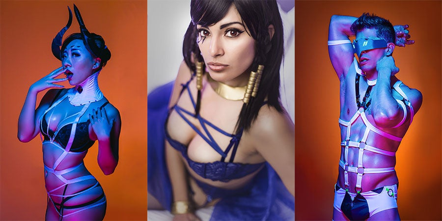 NSFW Overwatch Cosplay Was The Star Of The Show