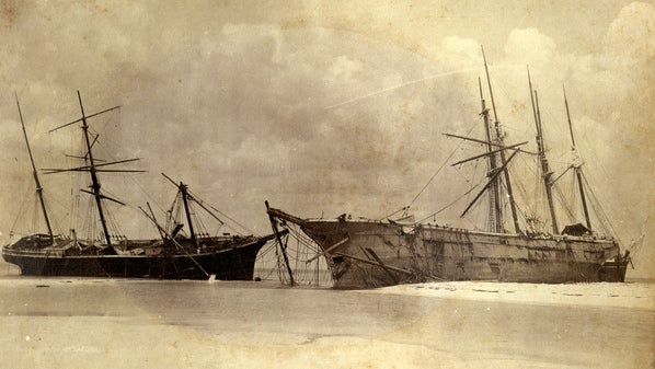 Hurricane Michael's Storm Surge Dredged Up 119-Year-Old Vessels