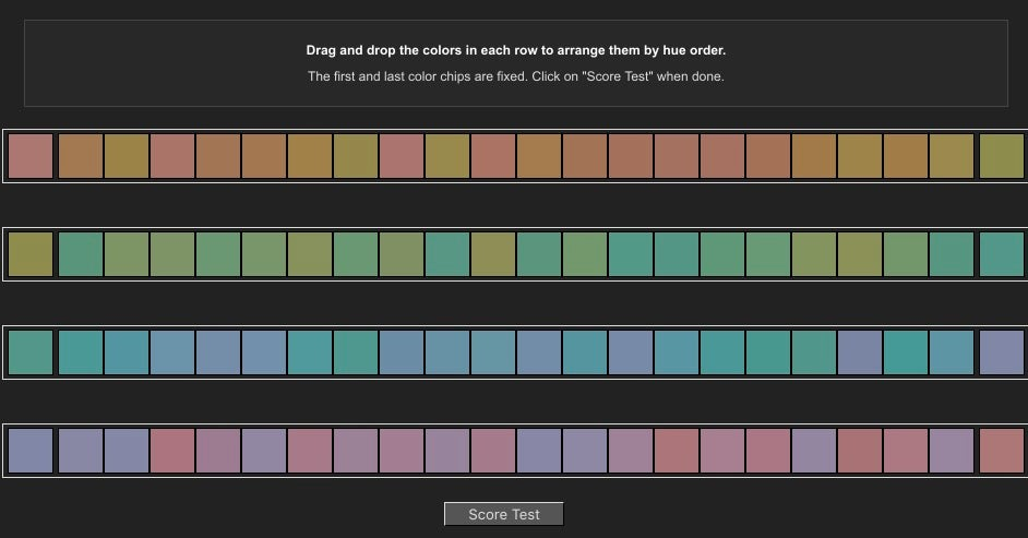 These Tests Will Tell You Just How Good Your Eyes Are At Seeing Colour