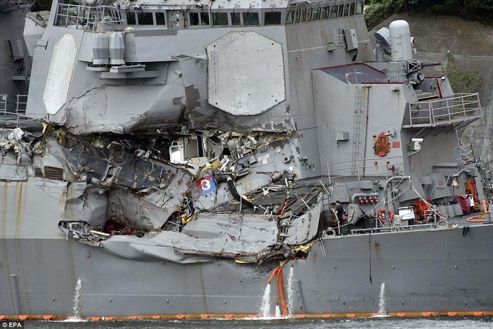 Why The Destroyer Crash That Killed Seven U.S. Sailors Doesn't Make Sense