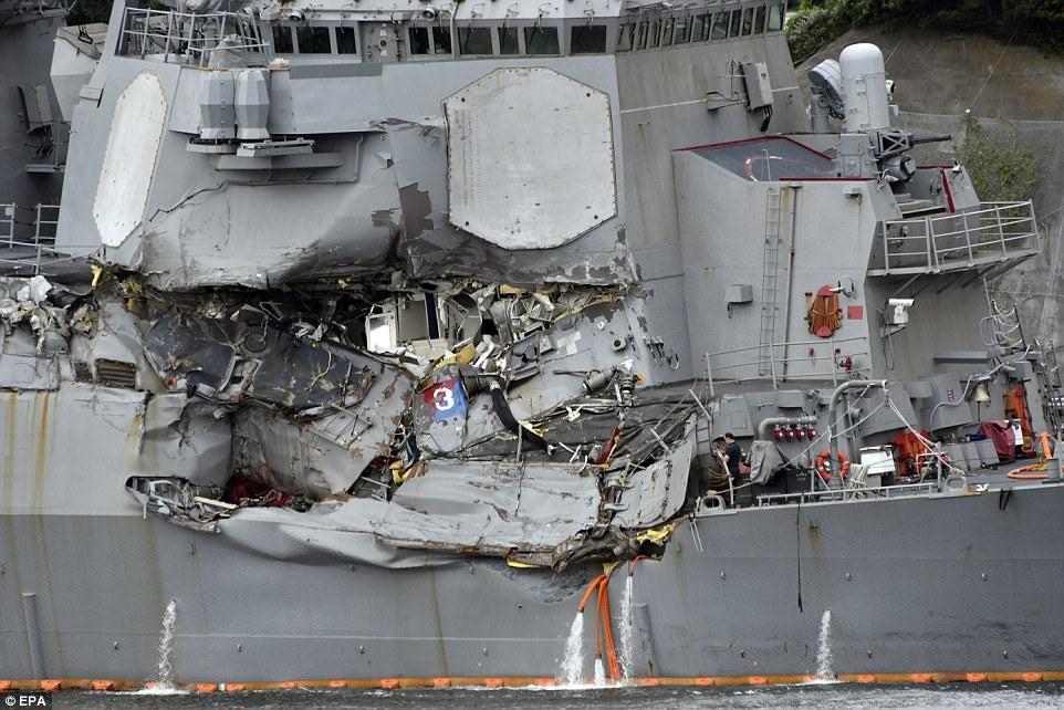 Why The Destroyer Crash That Killed Seven U.S. Sailors Doesn't Make Sense
