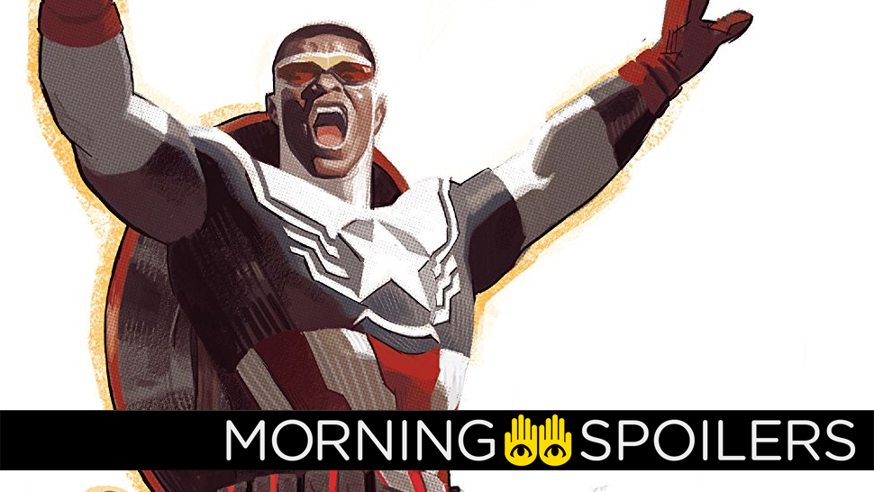 Anthony Mackie Teases Getting Suited Up As Captain America