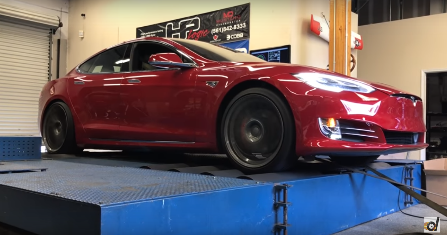 Here Is How Much Torque The Tesla Model S P100D Makes On The Dyno