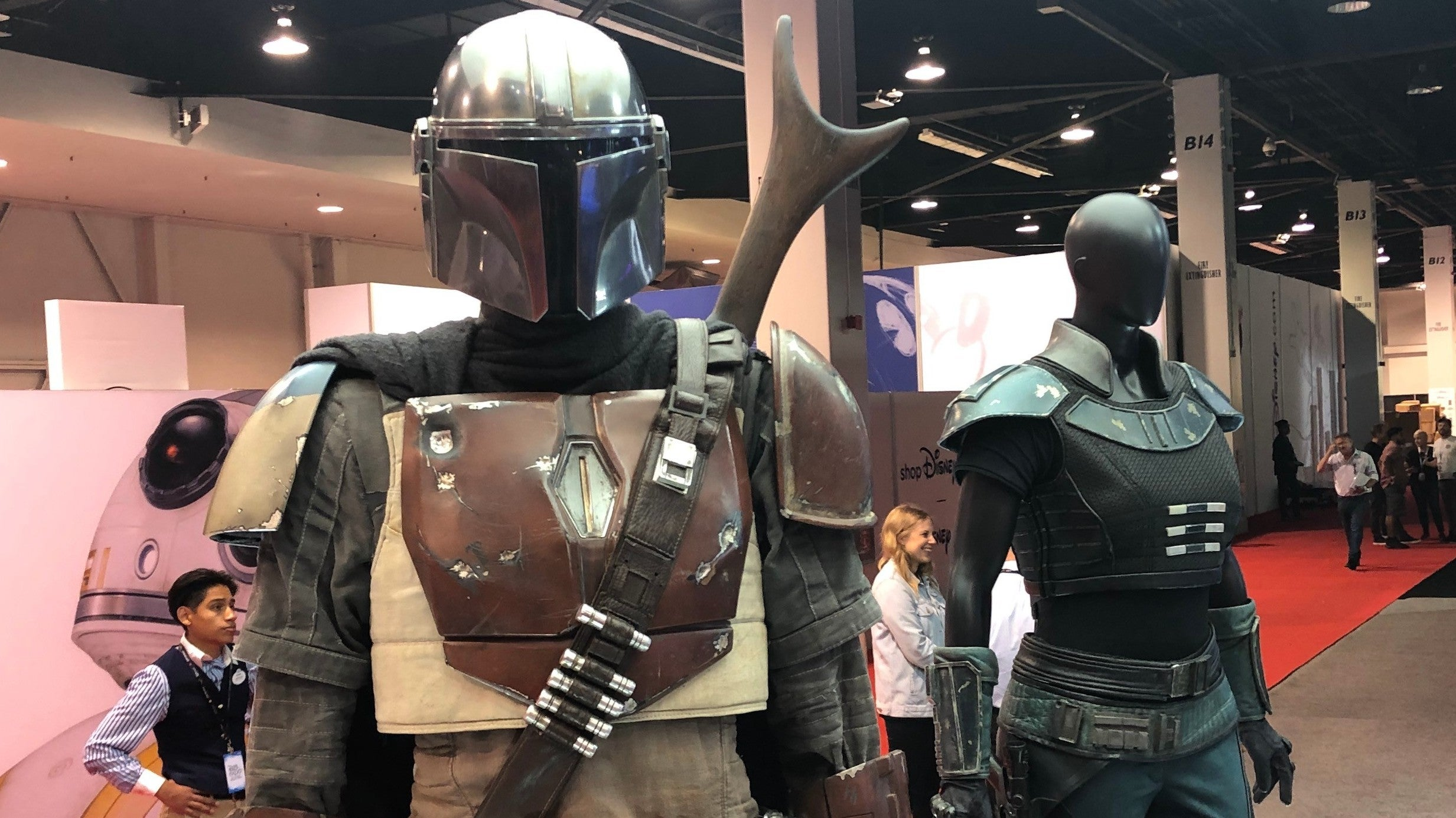 Up Close And Personal With The Armour And Weapons Of The Mandalorian's Mysterious Stars