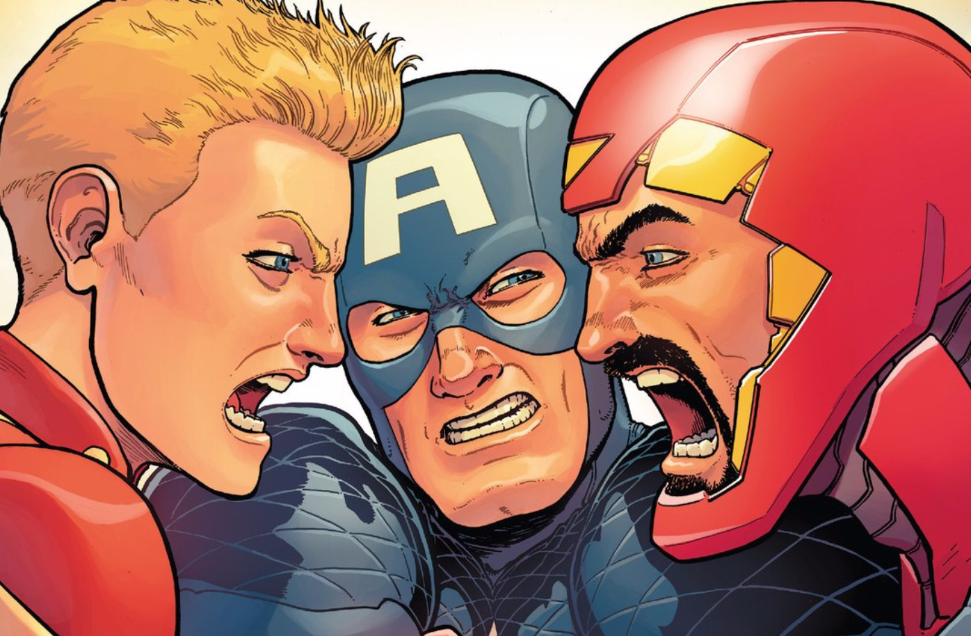 captain-america marvel-comics panel-discussion