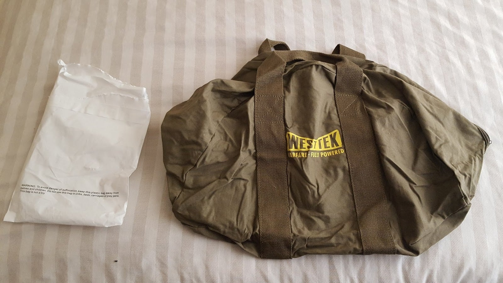 At Long Last, The Canvas Fallout 76 Bags Have Arrived